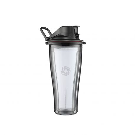 Juego 2 vasos Vitamix serie Ascent + base cuchillas - 600 ml