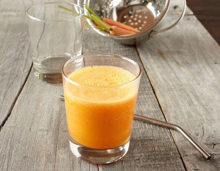 Zumo de cítricos y zanahoria
