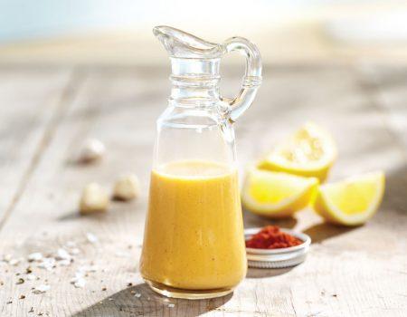 Aderezo de limón y ajo