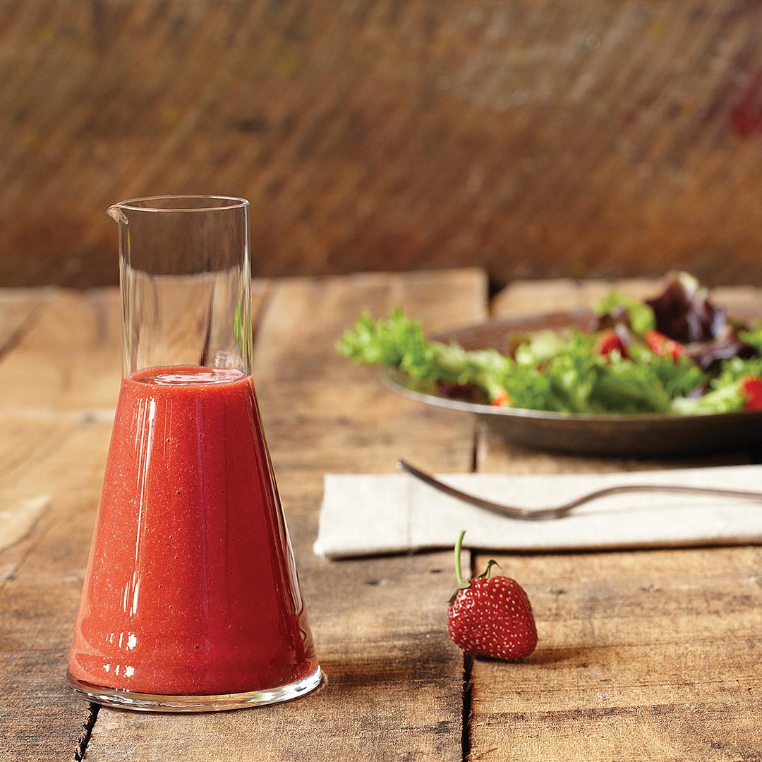 Vinagreta de fresas: un aliño diferente