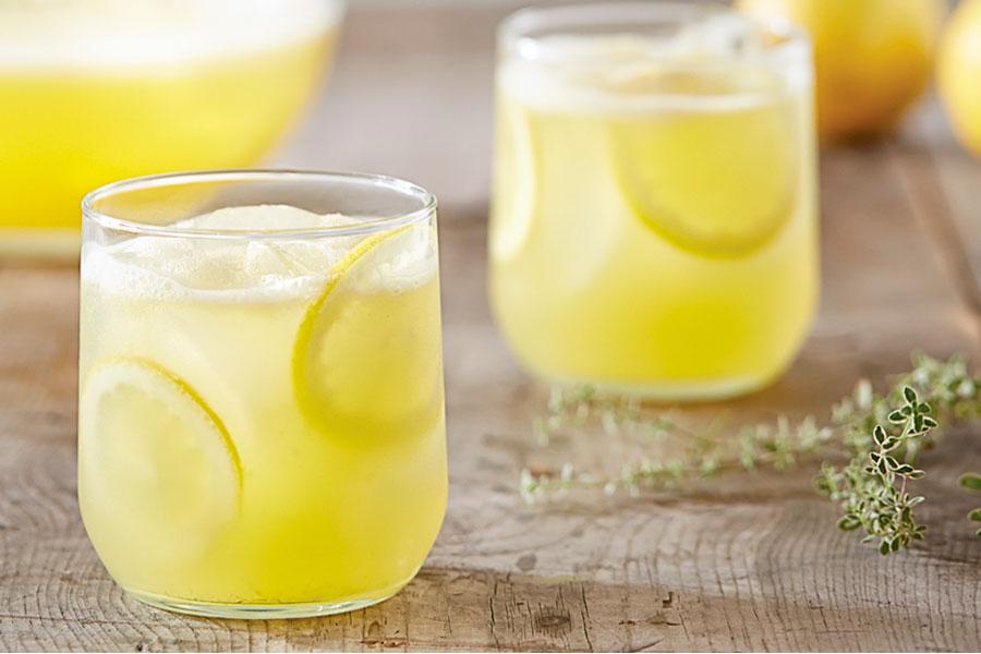 Limonada con Vitamix