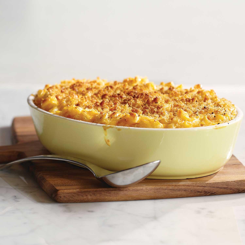Macarrones con salsa de queso