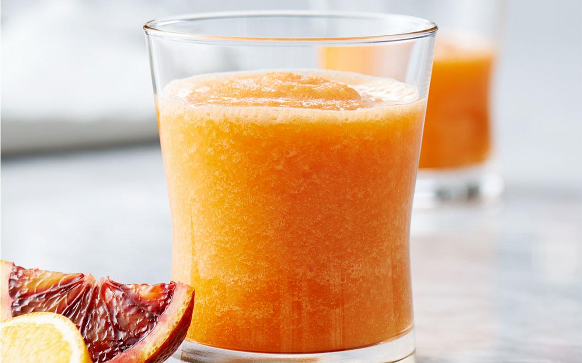 Batido de zanahoria y naranja