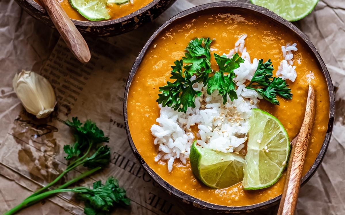 Curry de alubias blancas